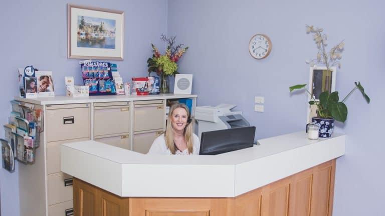 parkdale family dental reception